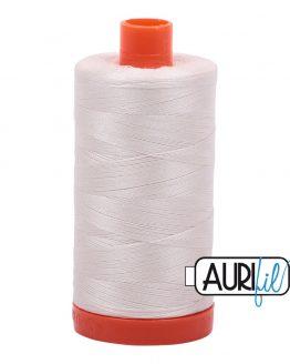 AURIfil Mako 50wt thread // cotton thread // #2311 muslin // Holm Sown