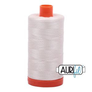 AURIfil Mako 50wt thread // cotton thread // #2311 muslin // Holm Sown