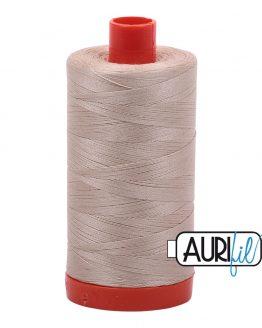 AURIfil Mako 50wt thread // cotton thread // #2312 ermine // Holm Sown