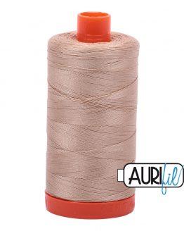 AURIfil Mako 50wt thread // cotton thread // #2314 beige // Holm Sown