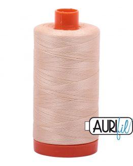 AURIfil Mako 50wt thread // cotton thread // #2315 pale flesh // Holm Sown