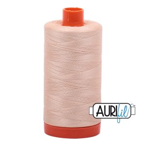 AURIfil Mako 50wt thread // cotton thread // #2315 pale flesh // Holm Sown