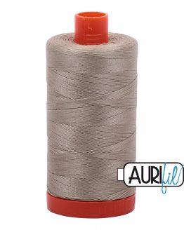 AURIfil Mako 50wt thread // cotton thread // #2324 stone // Holm Sown