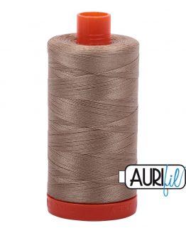 AURIfil Mako 50wt thread // cotton thread // #2325 linen // Holm Sown