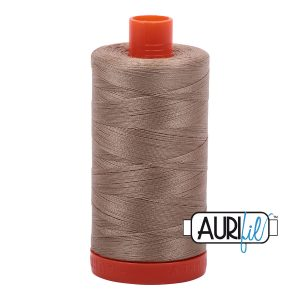 AURIfil Mako 50wt thread // cotton thread // #2325 linen // Holm Sown