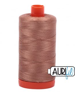 AURIfil Mako 50wt thread // cotton thread // #2340 cafe au lait // Holm Sown