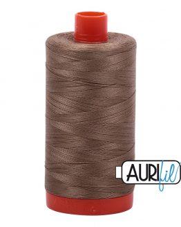AURIfil Mako 50wt thread // cotton thread // #2370 sandstone // Holm Sown