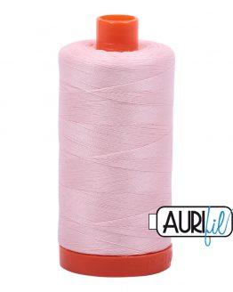 AURIfil Mako 50wt thread // cotton thread // #2410 pale pink // Holm Sown