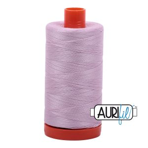 AURIfil Mako 50wt thread // cotton thread // #2510 light lilac // Holm Sown