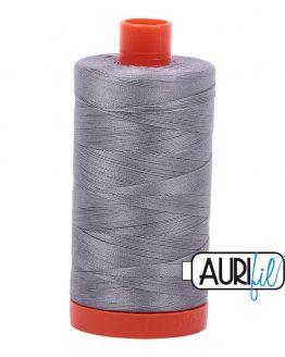 AURIfil Mako 50wt thread // cotton thread // #2605 grey // Holm Sown