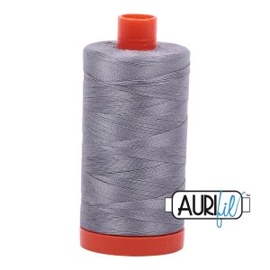 AURIfil Mako 50wt thread // cotton thread // #2605 grey // Holm Sown