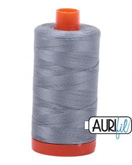AURIfil Mako 50wt thread // cotton thread // #2610 light blue grey // Holm Sown