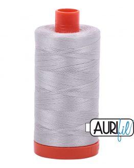 AURIfil Mako 50wt thread // cotton thread // #2615 aluminium// Holm Sown