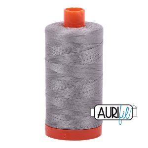 AURIfil Mako 50wt thread // cotton thread // #2620 stainless steel // Holm Sown