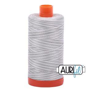 AURIfil Mako 50wt thread // cotton thread // #4060 silver moon variegated // Holm Sown