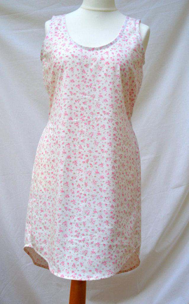 The Tank Dress // Sew Caroline // Rosie brushed cotton twill // Front // Holm Sown