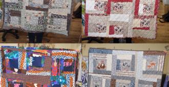 Beginners Patchwork & Quilting Workshop // Wonky Log Cabin Quilt // Holm Sown