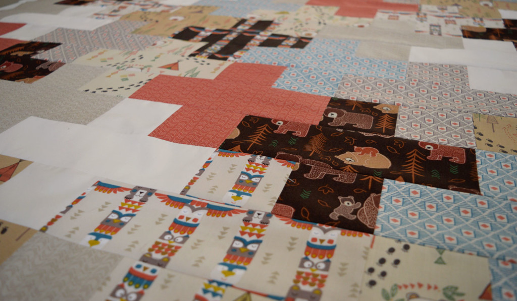 Week in review // wk14 2016 // Bearly Brown Quilt // Holm Sown