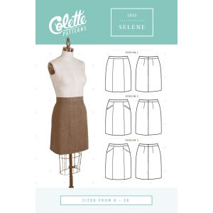 Colette Patterns 1035 // Selene Skirt // Pattern Envelope Front // Holm Sown
