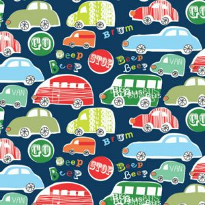 Dashwood Studio // Novelties fabric // Cars Beep // Holm Sown