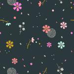 Dashwood Studio // Cotton Candy fabric // Midnight // Holm Sown