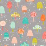 Dashwood Studio // Fable Wood fabric // Tall Trees // Holm Sown