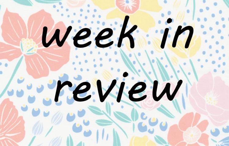 Week in review // week 16 2016 // Holm Sown