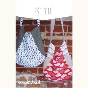 Noodle-head // 241 Tote Bag // pattern envelope // Holm Sown