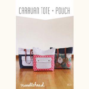 Noodle-head // Caravan Tote Bag // pattern envelope // Holm Sown