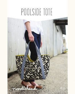 Noodle-head // Poolside Tote Bag // pattern envelope // Holm Sown