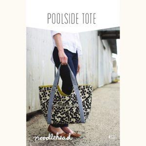 Noodle-head // Poolside Tote Bag // pattern envelope // Holm Sown