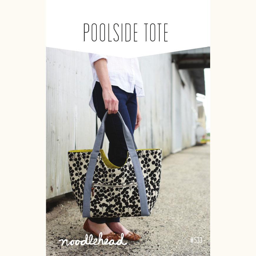 0ade5591f7fb Noodle-head    Poolside Tote Bag    pattern envelope    Holm Sown