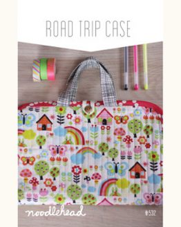 Noodle-head // Road Trip Case Bag // pattern envelope // Holm Sown