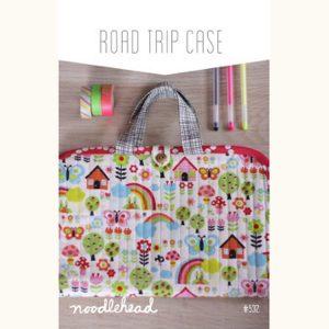 Noodle-head // Road Trip Case Bag // pattern envelope // Holm Sown