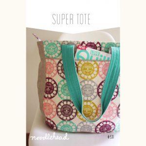 Noodle-head // Super Tote Bag // pattern envelope // Holm Sown