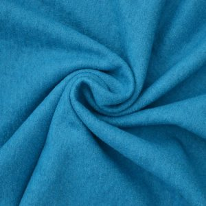 Boiled Wool Jersey // Teal // Holm Sown