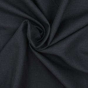 Cotton Voile - Black // Holm Sown