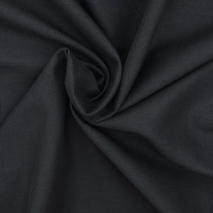 Cotton Voile - Black // Holm Sown