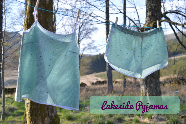 Hemingway Lakeside Pajamas // pyjama set // Holm Sown