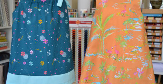 Kwik Sew 3934 and Kwik Sew 3864 // girls toddler dresses // Holm Sown