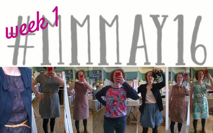 Me Made May 16 // week 1 // Holm Sown
