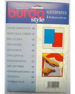 TSA176 Burda tracing carbon paper blue and red // Holm Sown