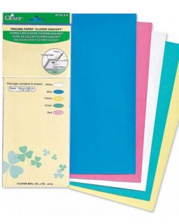 CL434 Clover chacopy tracing paper // 5 sheets // Holm Sown