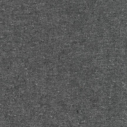 Essex Linen Yard Dyed // Robert Kaufman // Charcoal // Holm Sown