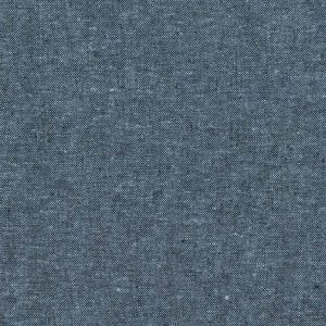 Essex Linen Yard Dyed // Robert Kaufman // Nautical Ocean Blue // Holm Sown
