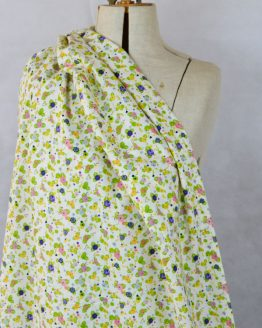 Roses pima cotton lawn dressmaking fabric // Holm Sown