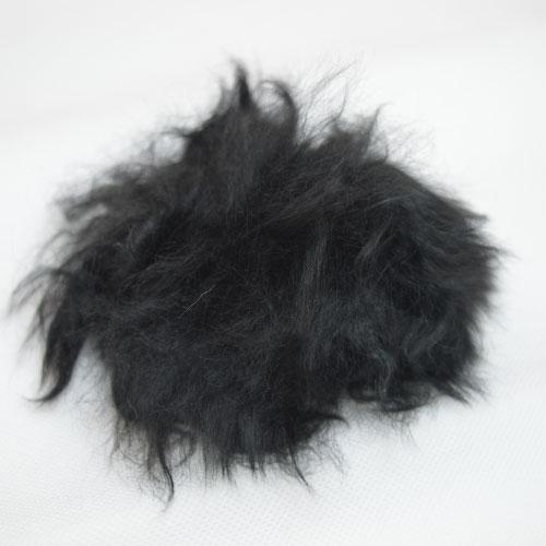 TOFT alpaca fur pom pom // black // Holm Sown