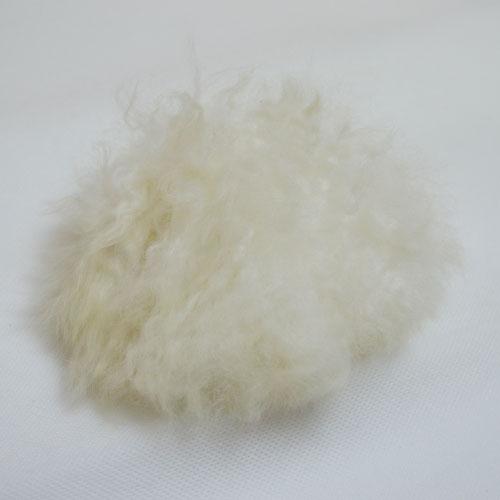 TOFT alpaca fur pom pom // cream // Holm Sown