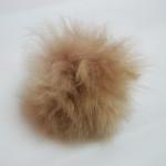 TOFT alpaca fur pom pom // stone light brown // Holm Sown