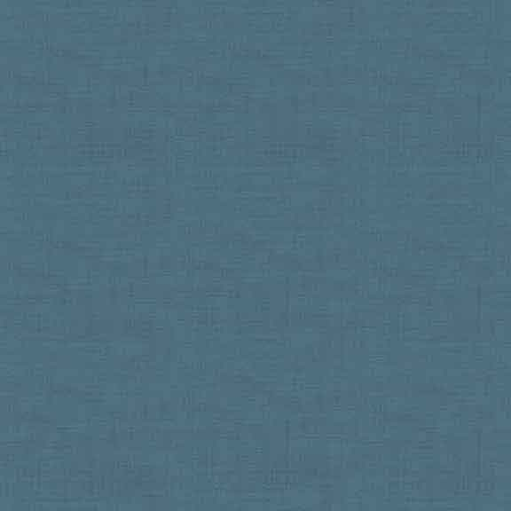 Makower Linen Texture cotton fabric // dark blue // Holm Sown